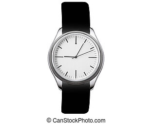 watch isolated on white