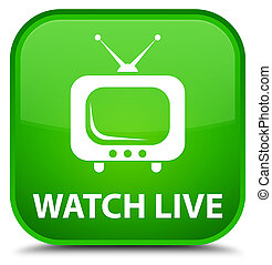 Watch live special green square button