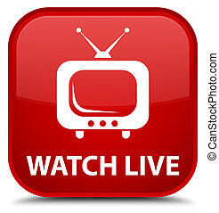 Watch live special red square button