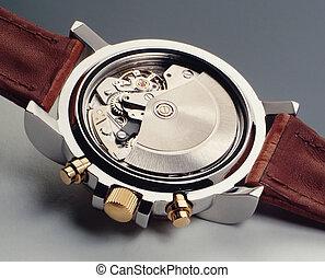 Watch mechanism - Automatic watch mechanism