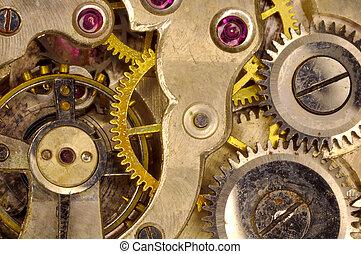 Watch Movement - Macro Photo of a Watch Movement