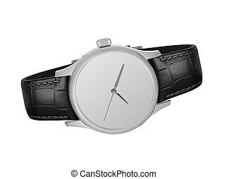 watch on a white background