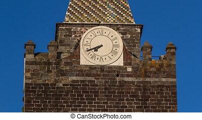 Watch on Catholic church in Funchal, Madeira island,...