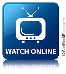 Watch online blue square button
