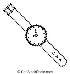 Watch sign illustration