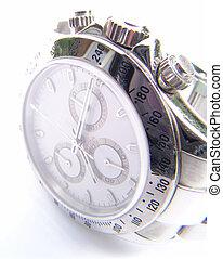 watch - worthful wristwatch, overexposed