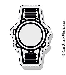 watch time isolated icon