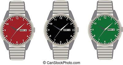 watches in vector