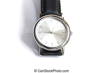 watches on a white
