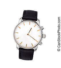 watches on white background