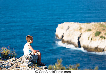 Watching the waves of Black Sea