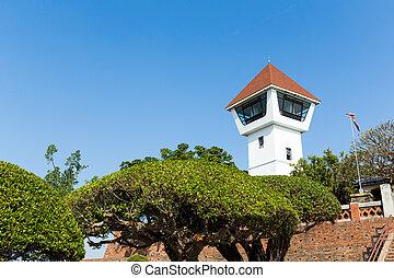 watchtower, の, 城砦, zeelandia, ∥において∥, tainan