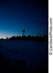 Watchtower at night 2
