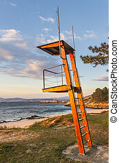 Watchtower on the beach