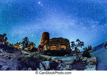 Watchtower Over the Grand Canyon Arizona