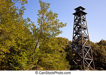 watchtower - fire watchtower at the forest
