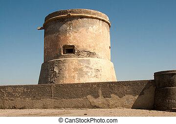 watchtower  - San Miguel of Cabo de Gata watchtower in Spain