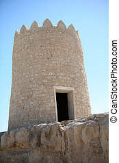 Watchtower - Traditional Arabian watchtower in the vicinity ...