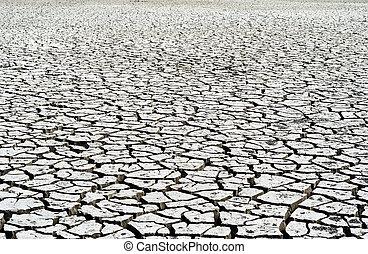 water., 世界的である, 割れた, warming., 粘土, なしで