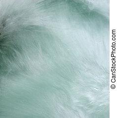 Water Abstract - Long exposure of McDonald Creek at Glacier...