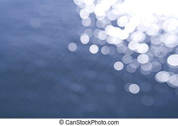 water, achtergrond, defocused, textuur