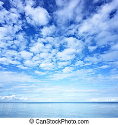 Water and sky photo