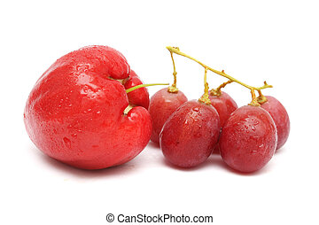Water Apple And Red Grape
