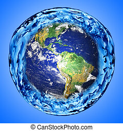 water around the earth