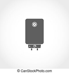 Water boiler vector icon