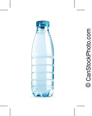 Water bottle illustration - Water bottle, illustration icon,...