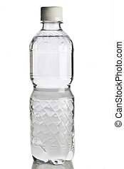Water bottle isolated