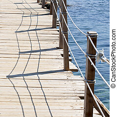 Water bridge detail