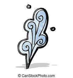 water cartoon element