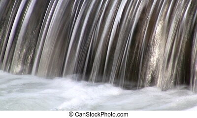 Water cascade - Small water cascade recorded at low speed