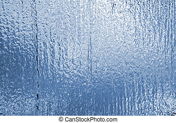 Water cascade wall texture pattern
