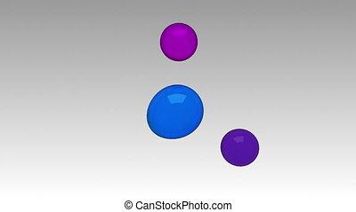 Water circle diagram flow chart, 3 result circle and main ...