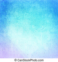 Water color on recycle blue paper texture background. Abstract D