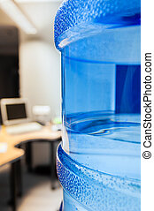 Water cooler in modern office