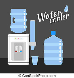 water cooler - Water cooler. Refreshment and bottle office, ...