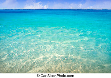 water, de caraïben, turkoois, strand, textuur