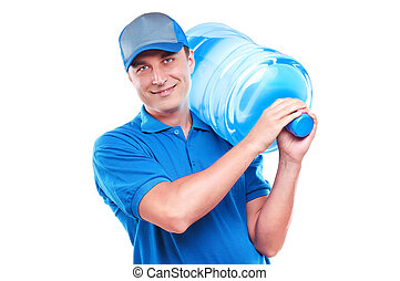 Water delivery courier