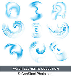 Water design elements