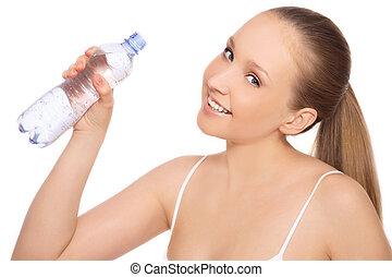 water, drank