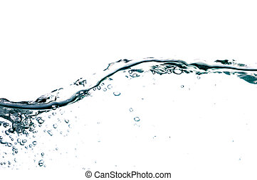 water drop #15 - on white background