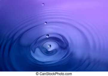 Water Droplet - Close up, water droplet
