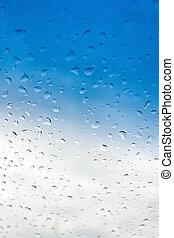 Water drops backgrou