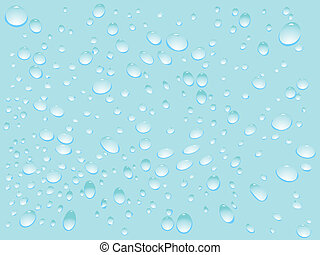 water drops pattern