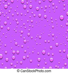 Water drops seamless pattern.
