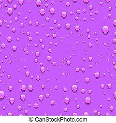 Water drops seamless pattern.