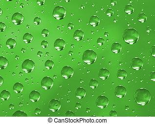 Water drops texture